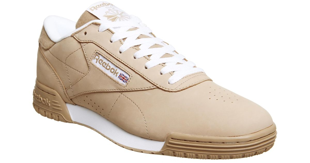 417eba131ce Reebok Exofit Lo Clean Pt Trainers in White for Men - Lyst