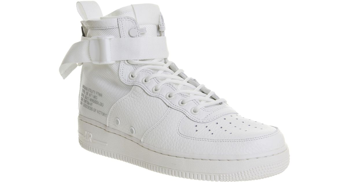 new product 0f459 e3d52 Nike - White Sf Af1 Mid 17 for Men - Lyst