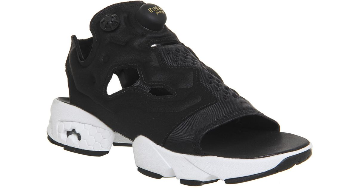 d1863bcae44 Lyst - Reebok Instapump Fury Sandal in Black for Men
