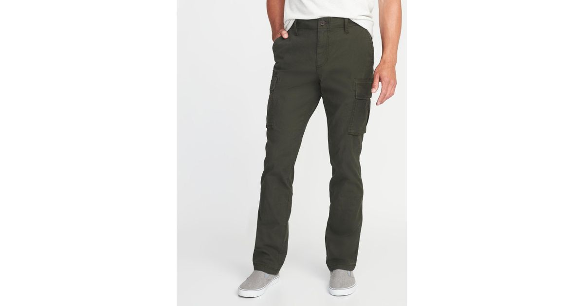 8d16345b2c437 Lyst - Old Navy Straight Lived-in Built-in Flex Cargos for Men