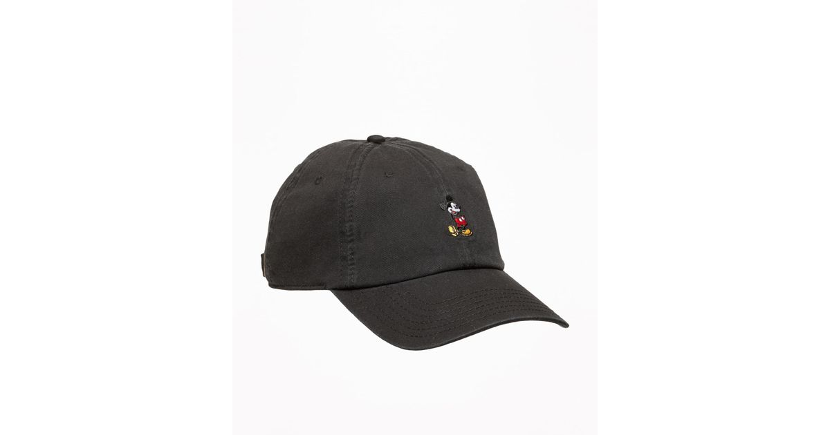 2f5688460f1 Lyst - Old Navy Disney© Mickey Mouse Baseball Cap in Black for Men