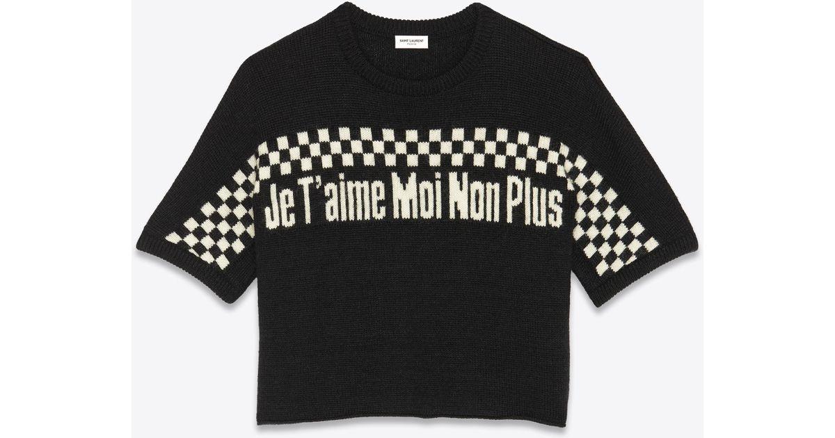 873d6c77900f Lyst - Saint Laurent Jacquard