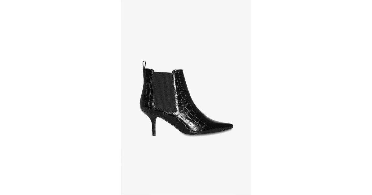 b15df909b03818 Lyst - Anine Bing Stevie Boots in Black