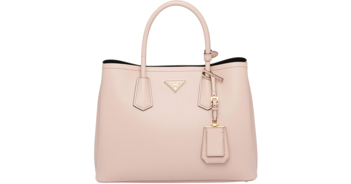 e62ee34da04e Lyst - Prada Double Medium Bag