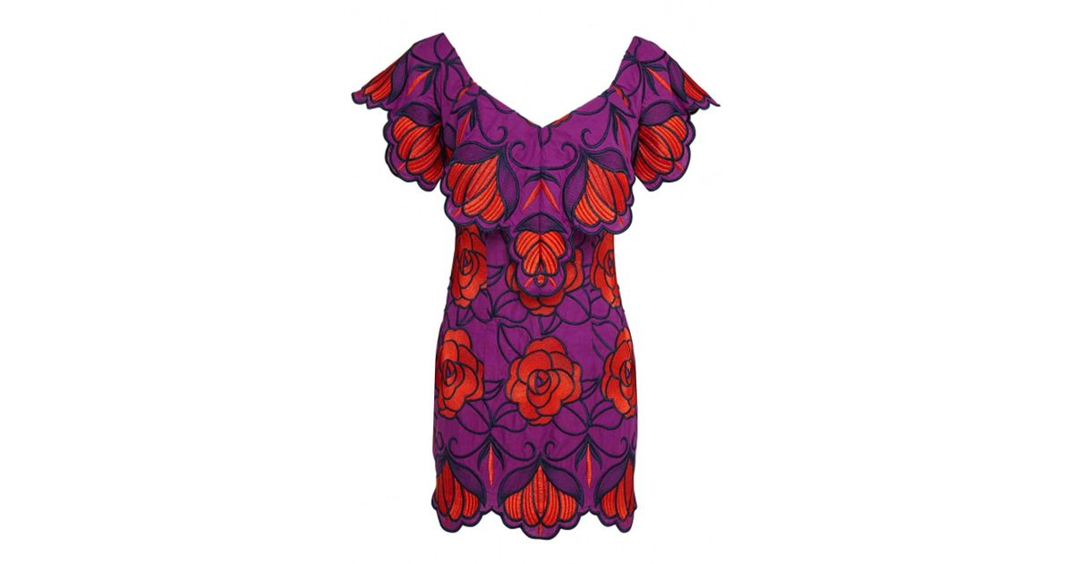 297d4fa480 Lyst - Alice McCALL Ms Rose Dress Violet Floral