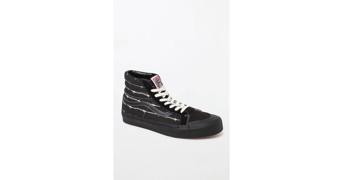 bb897de54a Lyst - Vans Wire Sk8-hi 138 Sf Shoes in Black for Men