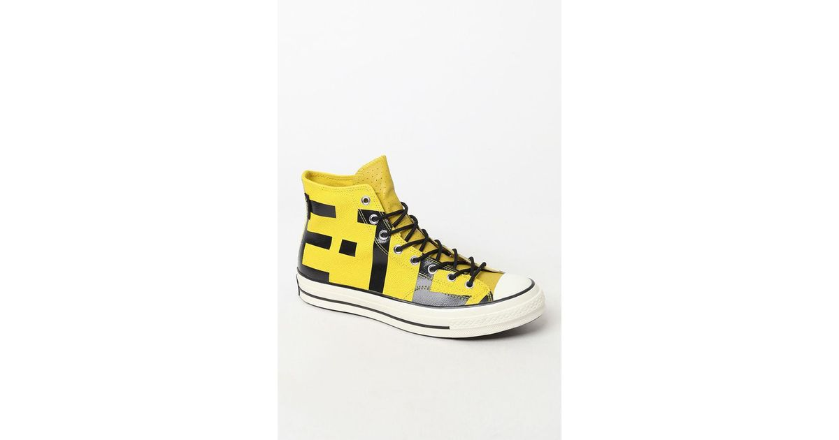 6bfb37e9275 Lyst - Converse Yellow Chuck Taylor Goretex Sneakers in Yellow for Men -  Save 12%