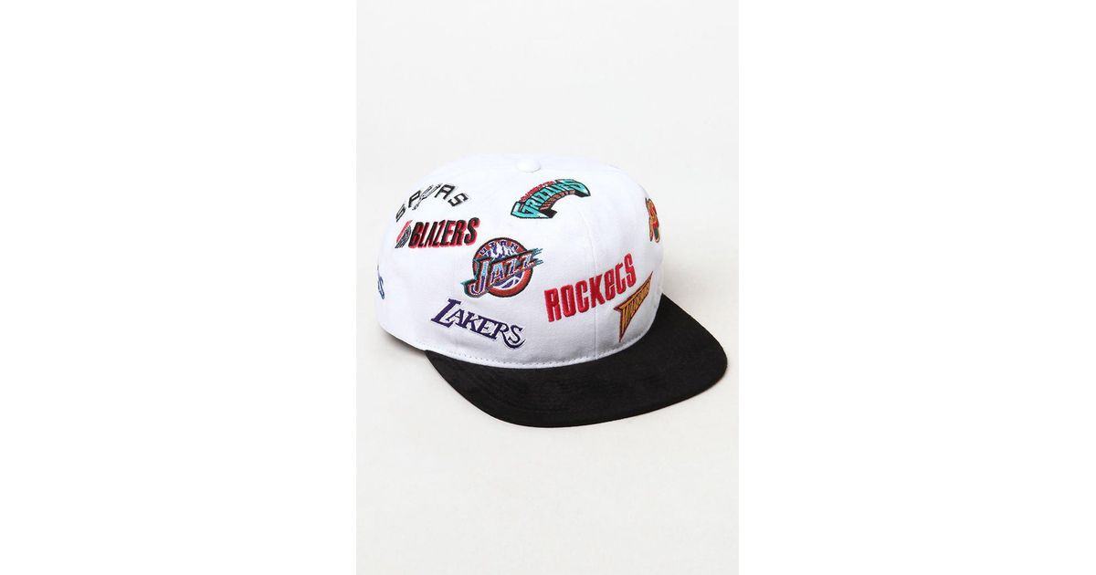 faebfa2e Mitchell & Ness X Timberland All Over Print Snapback Hat for Men - Lyst