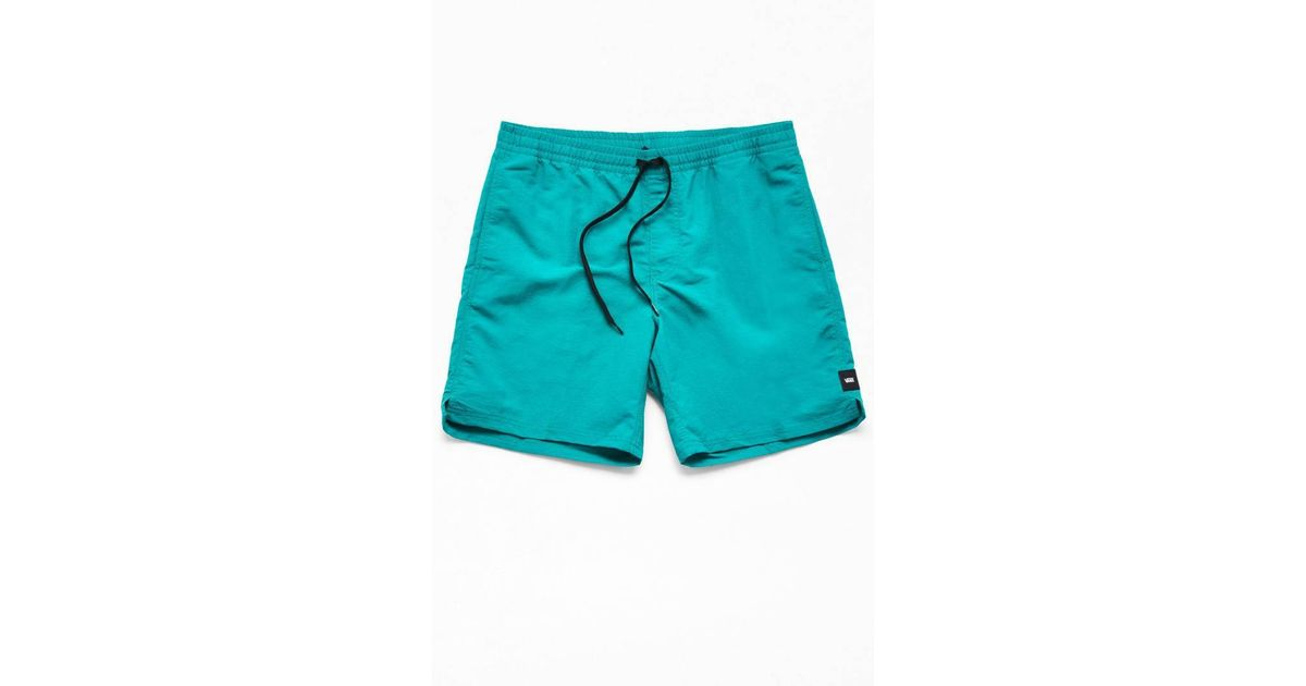 66bbbc2c5d0a6 Lyst - Vans Teal Primary Volley 17