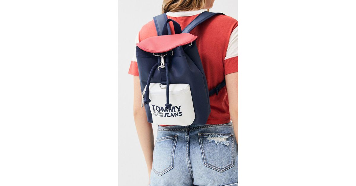 ad31b0166e1 Lyst - Tommy Hilfiger Modern Heritage Mini Backpack in Blue