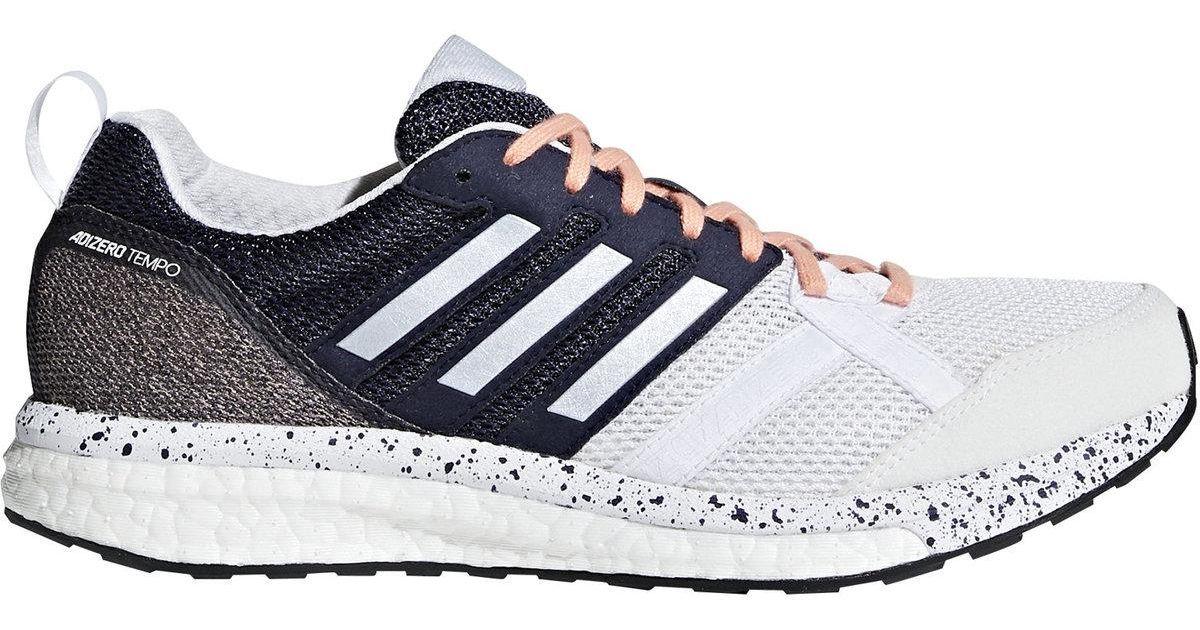 best service 87fe1 d0398 Adidas - Multicolor Adizero Tempo 9 Running Shoe for Men - Lyst