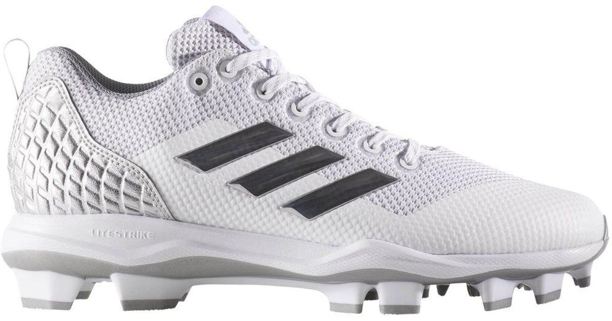 438359ea98f Lyst - adidas Poweralley 5 Tpu Baseball Cleats for Men