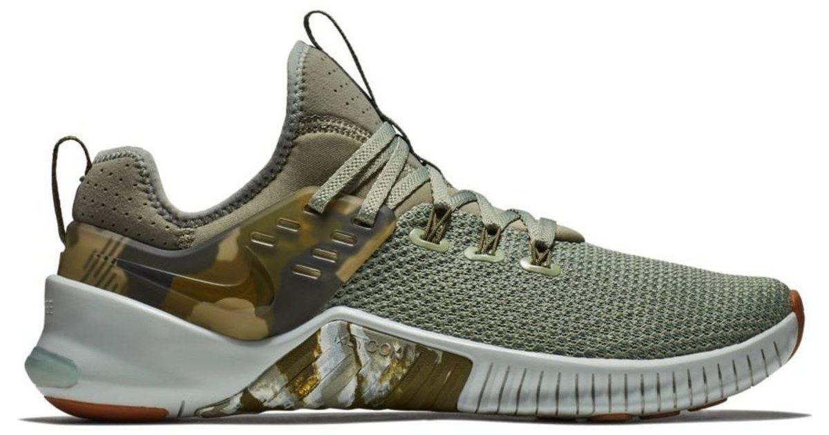 67b28cab297 Lyst - Nike Free X Metcon Training Shoe – Mens in Green for Men