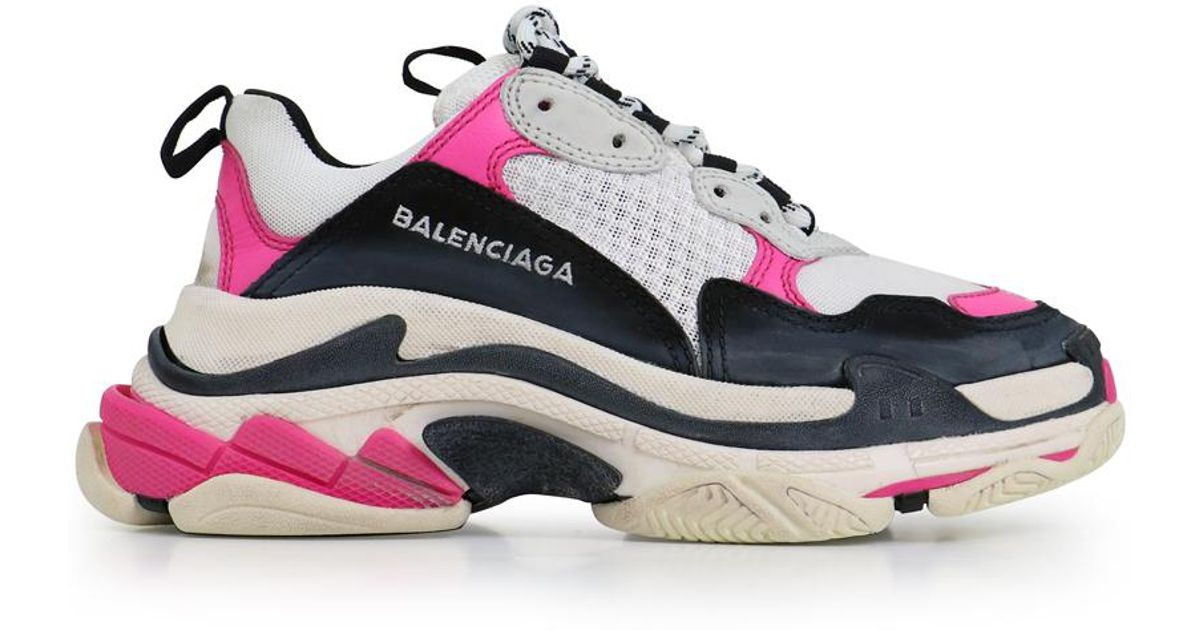 43171710813d6 Balenciaga Triple S Trainer Rose in Pink - Lyst