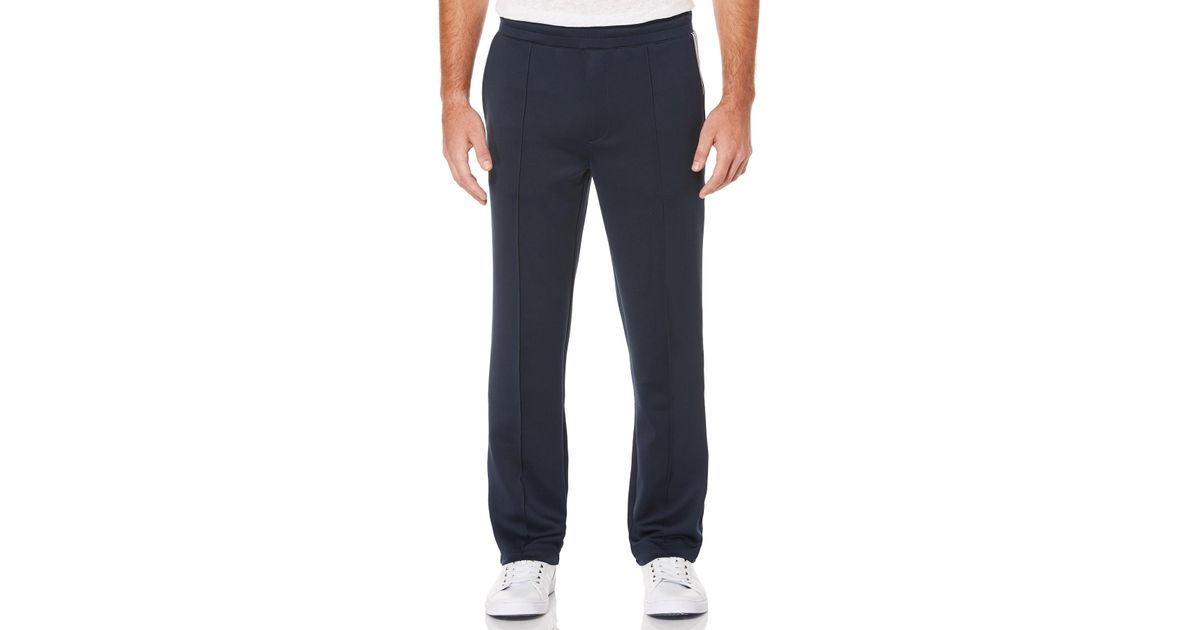 Lyst - Perry Ellis Drawstring Sport Long Pants in Blue for Men 45d85aa5e26