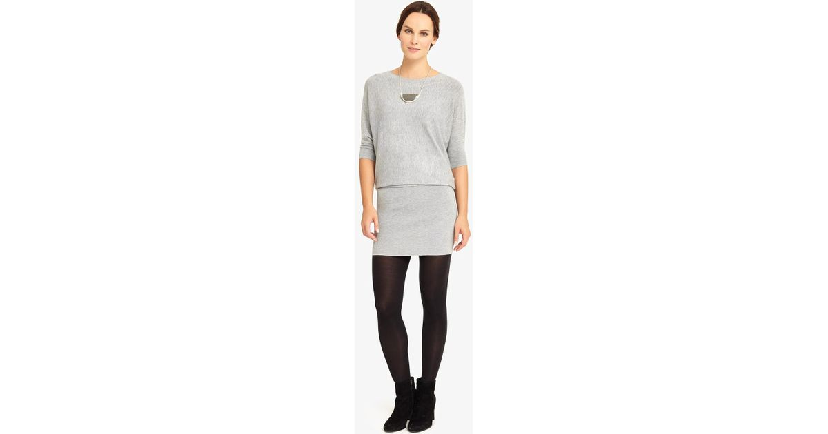 81b3483d716 Phase Eight - Gray Becca Batwing Dress - Lyst