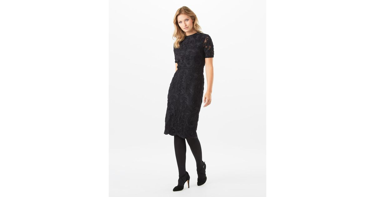 Lyst Phase Eight Allandra Tapework Dress In Black