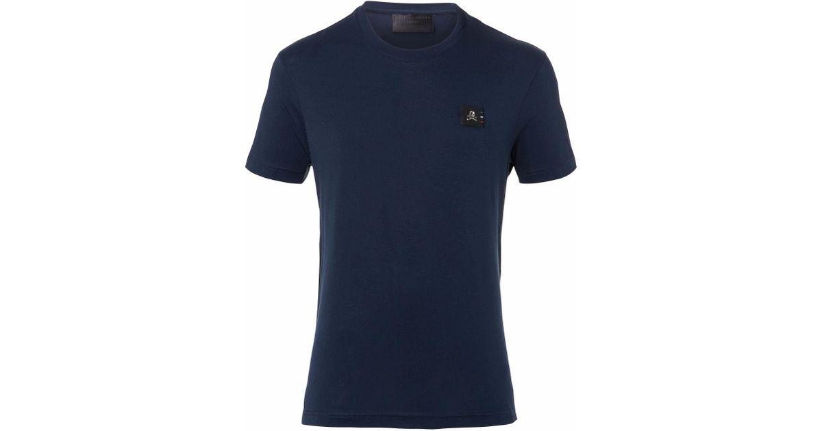 3e1d80a14e Lyst - Philipp Plein T-shirt Round Neck Ss