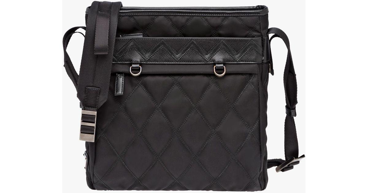 1f90c fbb9c  ireland lyst prada messenger bag in black for men 7e848 5d046 6726c574d0935
