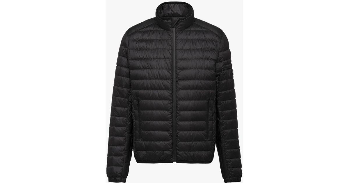 Black Lyst Jacket Men for in Puffer Prada Eggshell x7Xq1Xzg