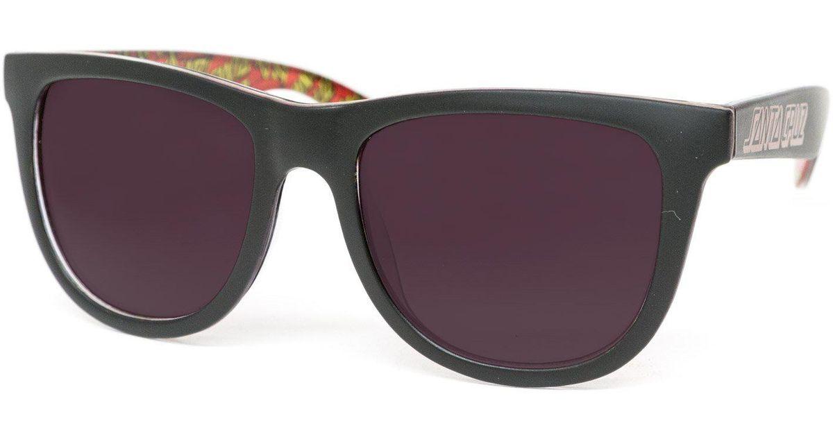 6120c05163b9 Lyst - Santa Cruz Classic Dot Sunglasses in Black for Men