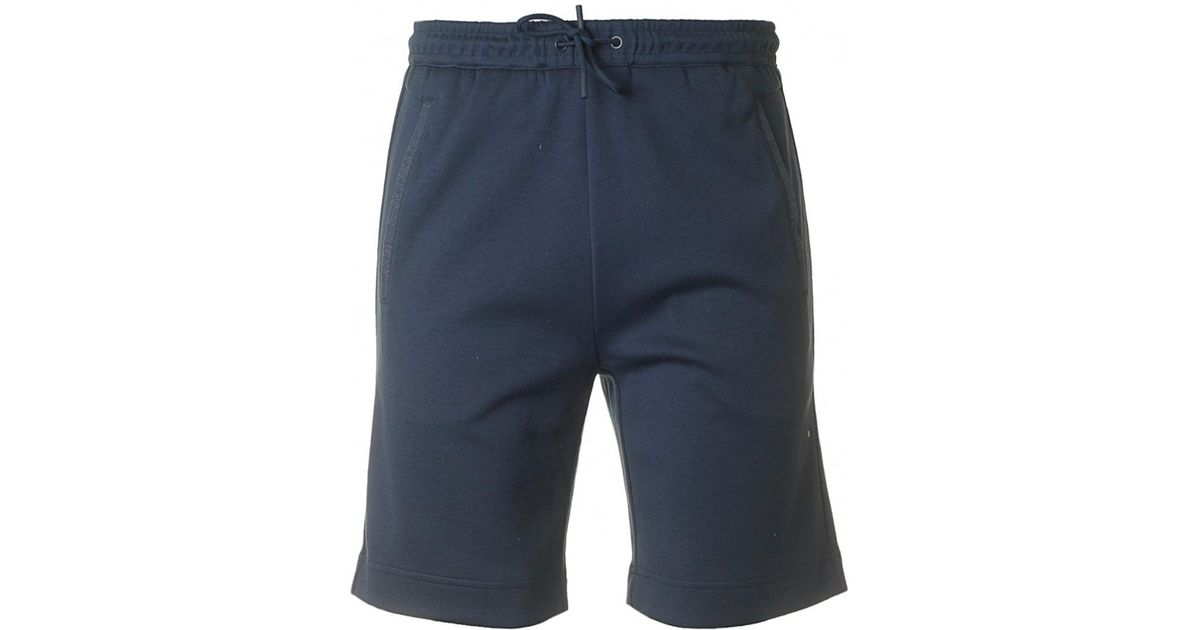 8263bc2dc BOSS Athleisure Headlo Jersey Shorts in Blue for Men - Lyst