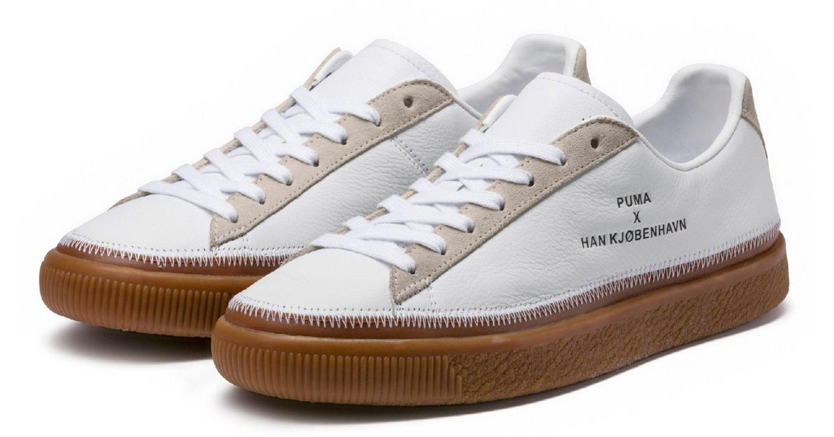 6a4d219c568 Lyst - PUMA Clyde Stitched in White for Men