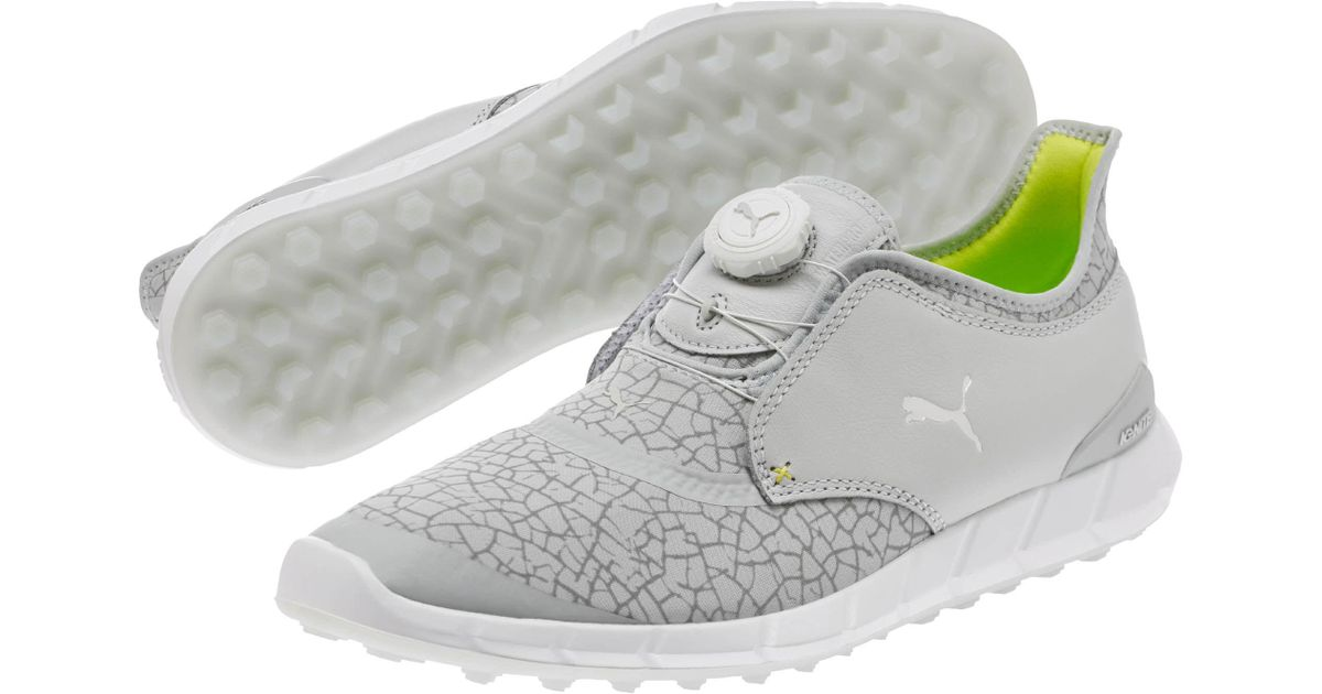 8f91e28f09f907 Lyst - PUMA Ignite Disc Extreme Men s Golf Shoes in Gray for Men