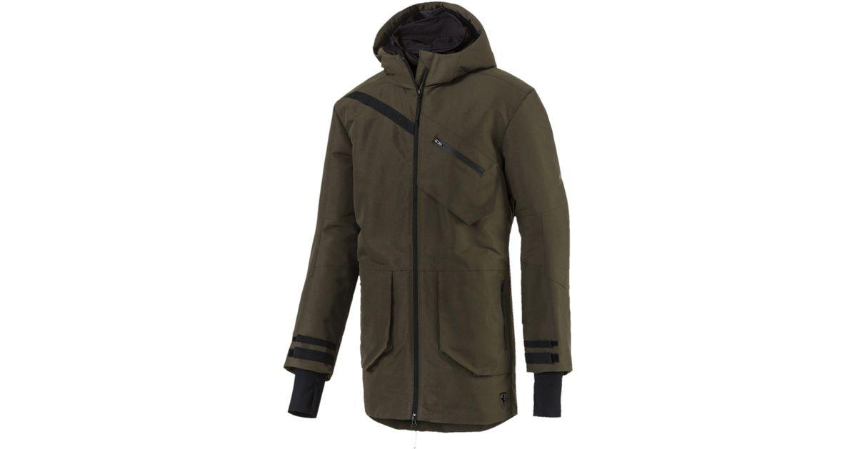57f902e43fa1 Lyst - PUMA Ferrari Rct Zip-up Hooded Men s Jacket in Green for Men