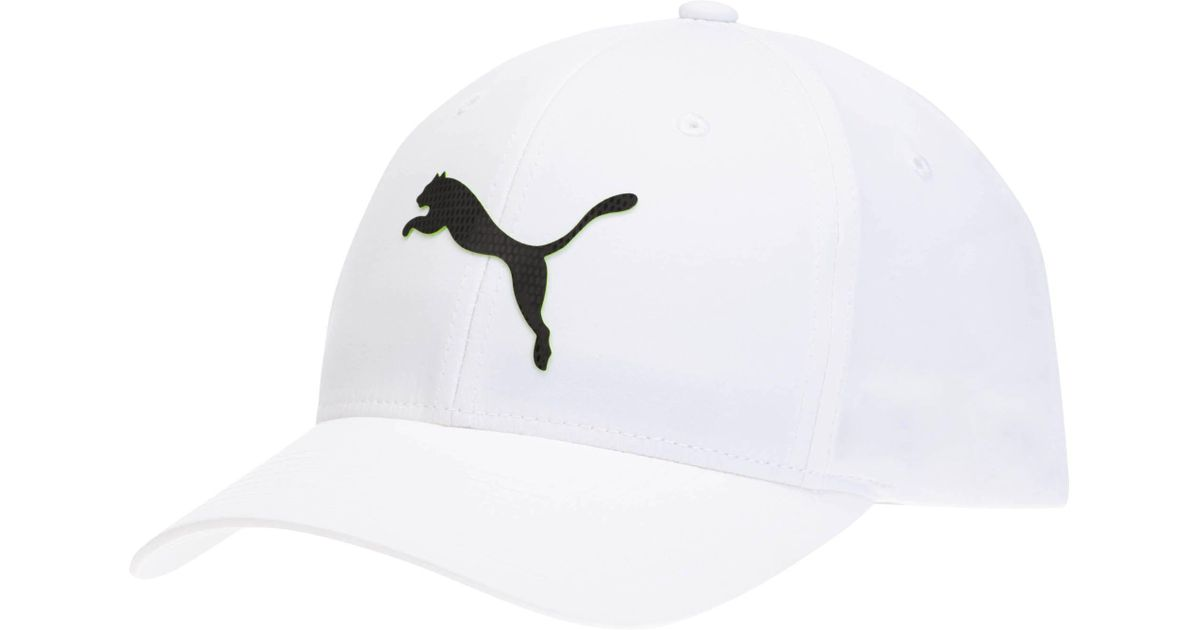 Lyst - Puma Lightweight Performance Body Flexfit Hat in White for Men a205ceab64e