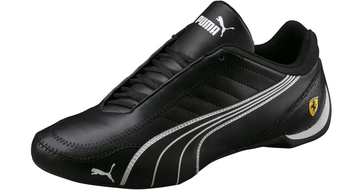 ae69363f4741f7 Lyst - PUMA Ferrari Future Cart Cat Men s Motorsport Shoes in Black for Men