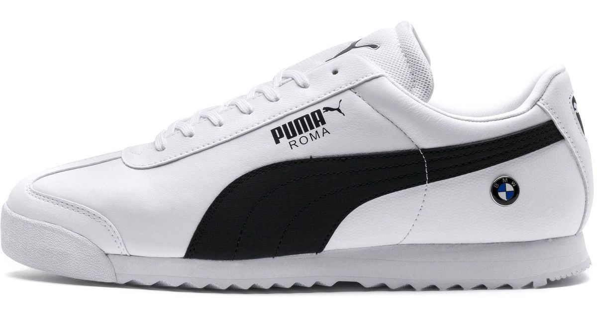 6938b3360ba461 Lyst - PUMA Bmw Roma Sneaker in White for Men - Save 31%