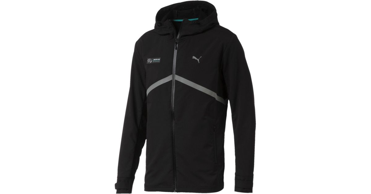 Lyst Puma Mercedes Amg Petronas Nightcat Men S Jacket In Black For Men