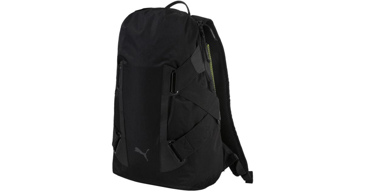 01f7af4e4910 Lyst - PUMA Stance Mostro Backpack in Black for Men