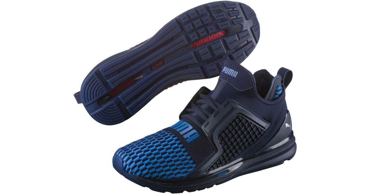 Limitless Training Colorblock Ignite Shoes Men's Lyst Blue In Puma T3F1lKuJc