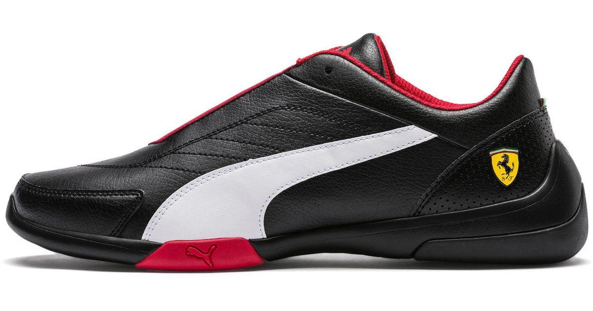 0029808f241a22 Lyst - PUMA Scuderia Ferrari Kart Cat Iii Sneakers in Black for Men - Save  35%