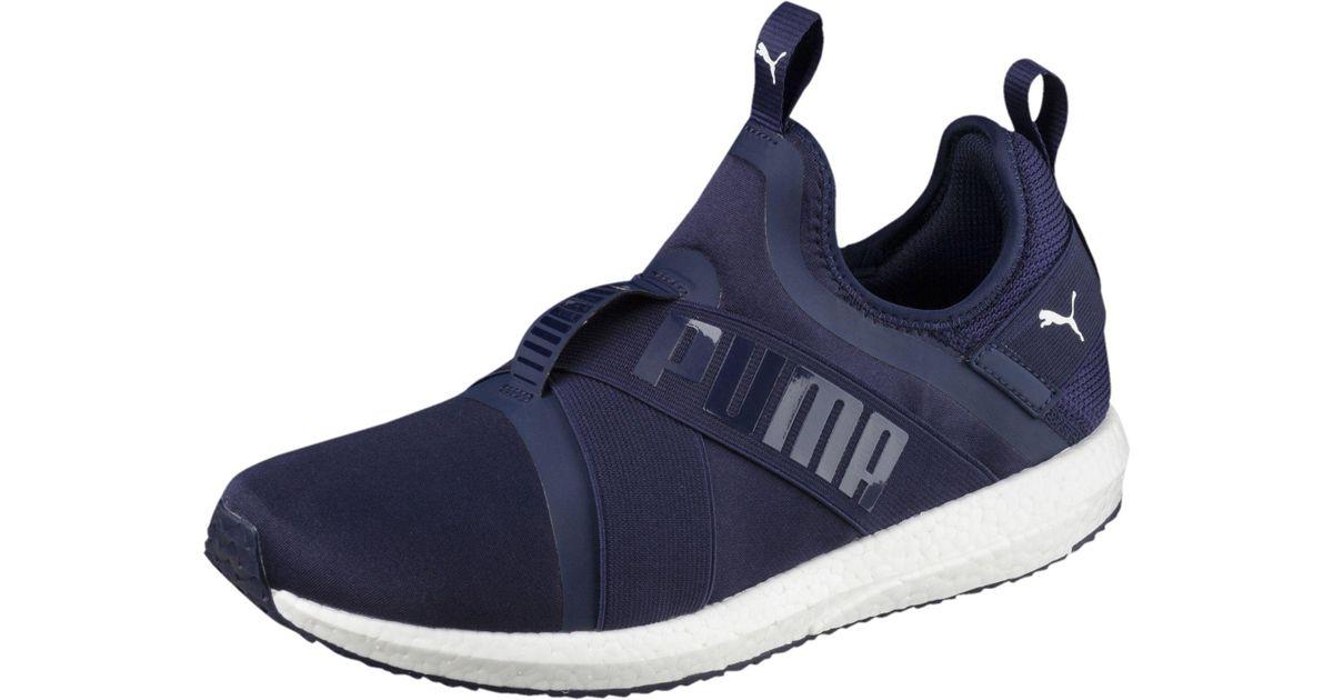buy online 6e737 3b553 PUMA Mega Nrgy X Men s Running Shoes in Blue for Men - Lyst