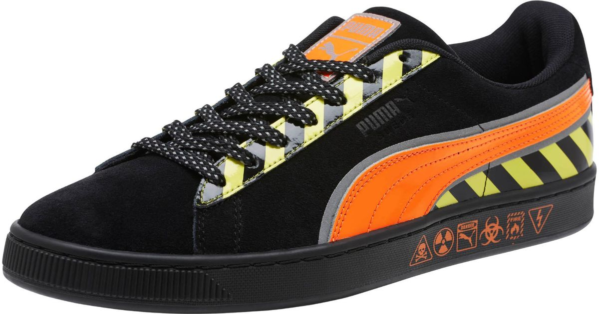 407eb24162660 Lyst - PUMA Suede Hazard Sneakers in Black for Men