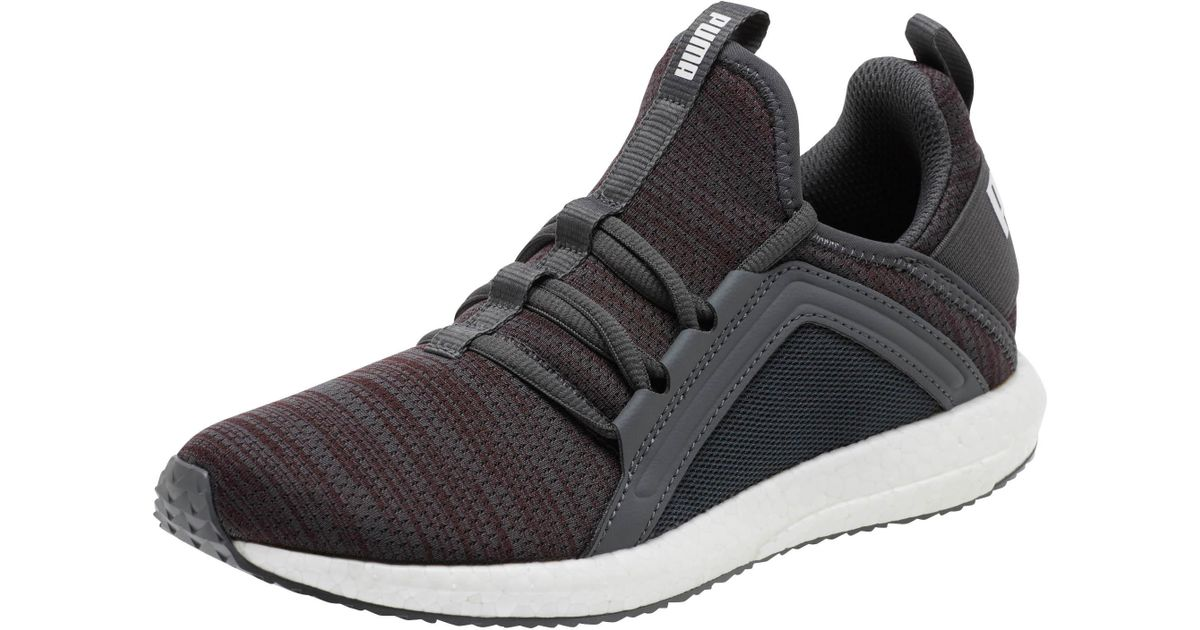 a6a0625d98d642 Lyst - PUMA Mega Nrgy Heather Knit Women s Running Shoes in Black - Save 17%