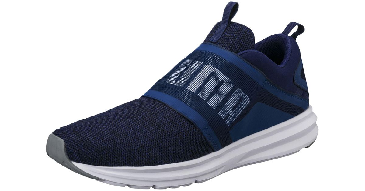 Lyst - PUMA Enzo Strap Knit Men s Running Shoes in Blue for Men 6a3274050