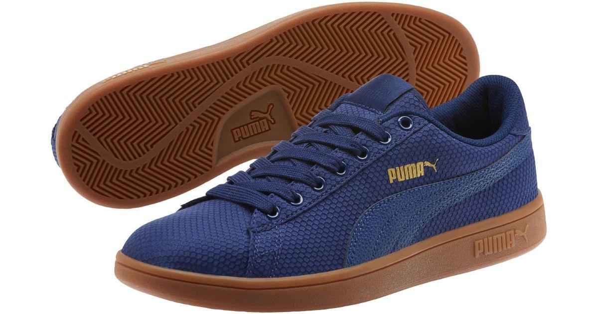 d7b4181ea932 Lyst - PUMA Smash V2 Ripstop Men s Sneakers in Blue for Men