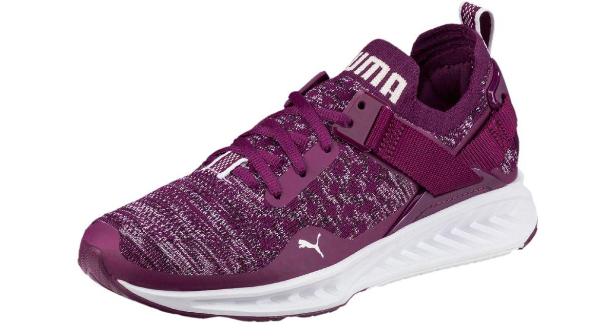 purple puma shoes