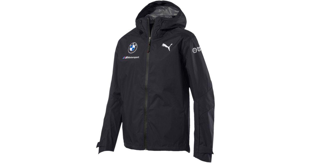 d3973100cee Lyst - PUMA Bmw Motorsport Men s Team Rain Jacket for Men