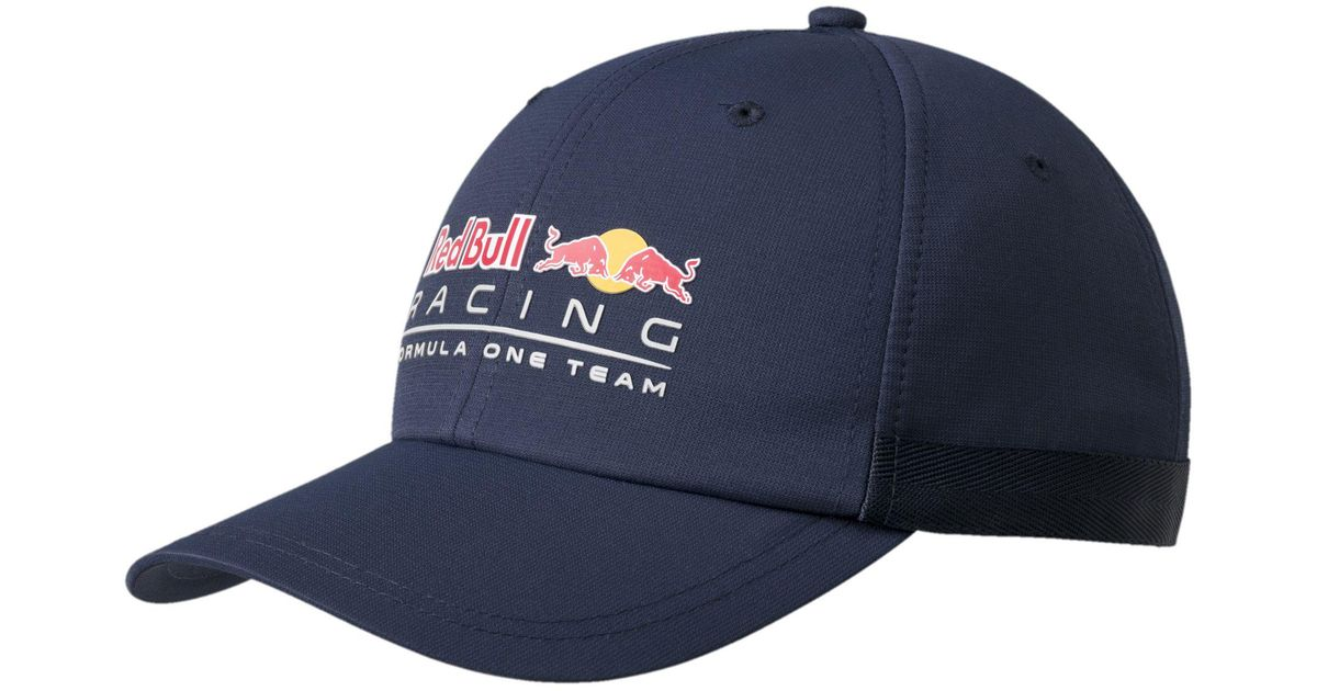 Lyst - PUMA Red Bull Racing Lifestyle Hat in Blue for Men 87d12e8bc70