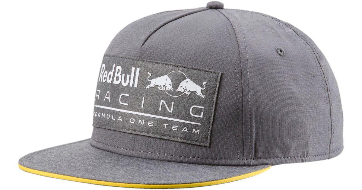 c2dfbf5a2f5 ... switzerland lyst puma red bull racing lifestyle flatbrim hat in gray  for men fddc8 75342