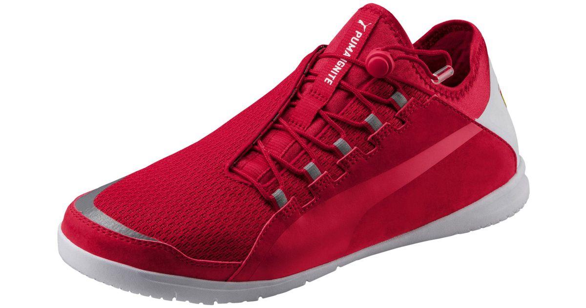 d09a1122d158a0 Lyst - PUMA Ferrari F Cat Ignite Sneakers in Red for Men