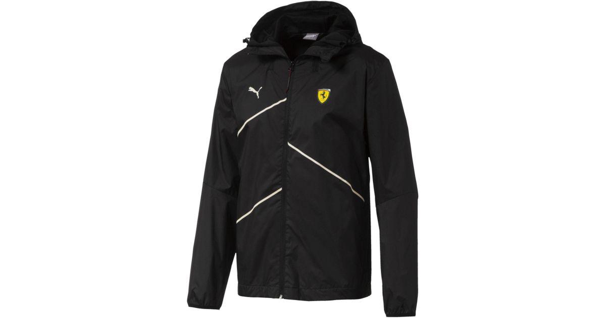 1341b96d2057 Lyst - PUMA Scuderia Ferrari Nightcat Lightweight Jacket in Black for Men