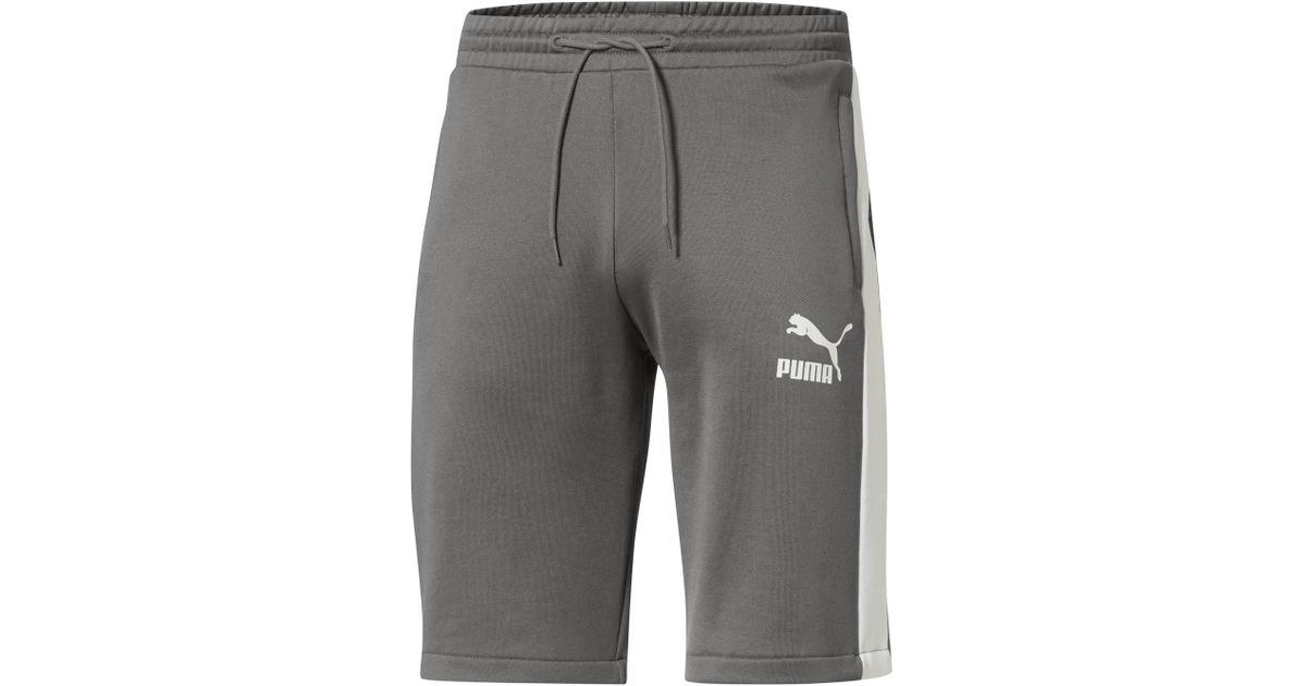 1e0b00ec24cf9 PUMA - Gray T7 Freizeit Short 11.5in for Men - Lyst