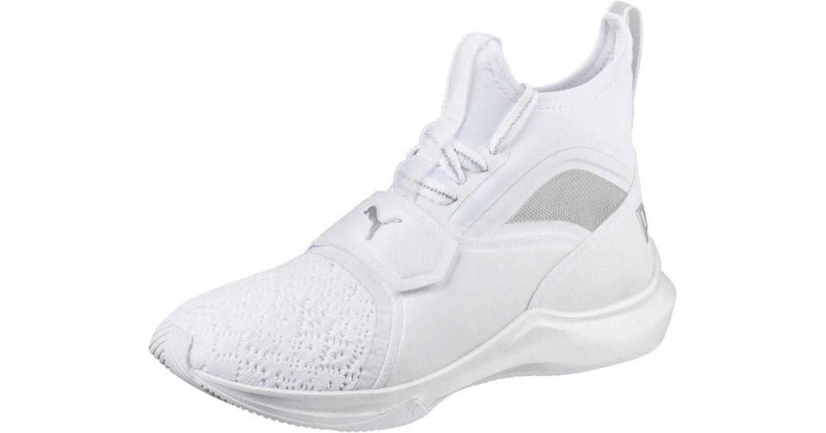 Lyst - PUMA Phenom En Pointe Women s Training Shoes in White 99b5a46b8