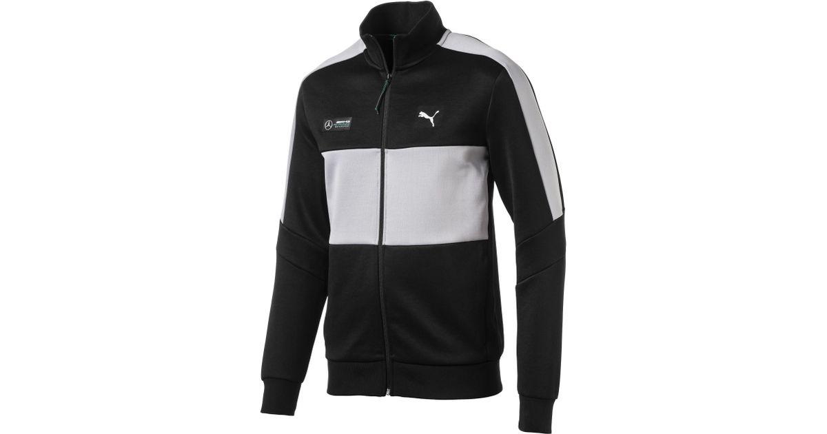 3336d0d3236 PUMA Mercedes Amg Petronas Men's T7 Track Jacket in Black for Men - Lyst
